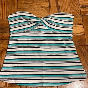 NWOT Guess striped tube top